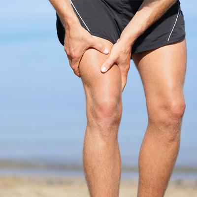 muskelbristning vad rehab